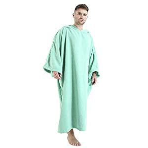 Winthome Surf Poncho Changing Robe, Hooded Towel Poncho| Thick Quick Dry Microfiber Wetsuit Beach Poncho Swimming…