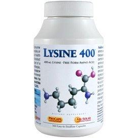 Lysine-400 90 Capsules by Andrew Lessman