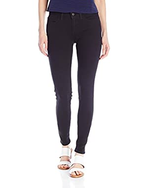 Women's 535 Super Skinny Jean, Soft Black, 27W x 32L