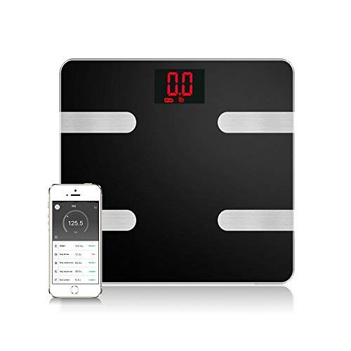 Scales Digital Weight and Body Fat – Smart Wireless Weight Scale – Health Monitor with IOS Android APP Control for Body Weight Fat BMI BMR Muscle Mass
