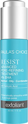 Paula's Choice RESIST Advanced Pore Refining Treatment 4% BHA Serum | Salicylic Acid & Green Tea | Anti-Aging Exfoliant | Oily Skin | 1 Ounce