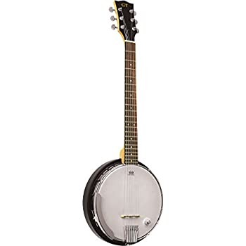 Goldtone AC-6+ 6 String Banjo with Gig Bag