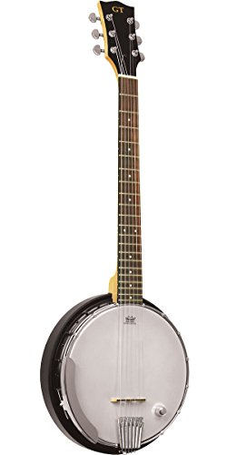 Goldtone AC-6+ 6 String Banjo with Gig Bag by Gold Tone