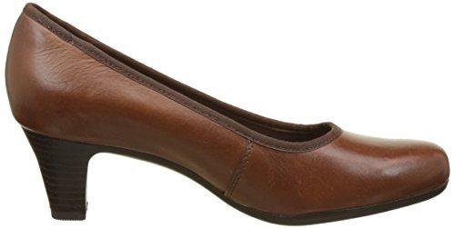 Rockport Hezra Pump - Tacones Mujer Marron (Almond Leather)