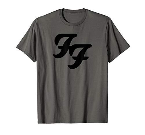 (Foo Fighters Black Logo T-Shirt)