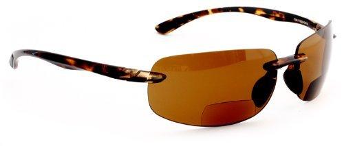 FG Maui Island Style Polarized Bifocal Sunglasses with Po...
