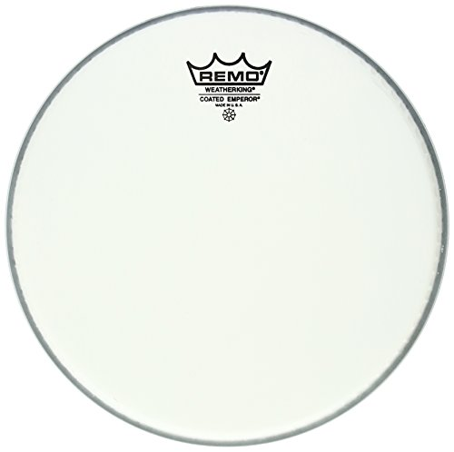 - Remo BE-0110-JP 10-Inch Emperor Drum Head, Smooth White Coated