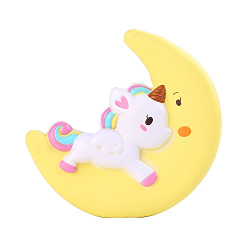 Sinofun Super Jumbo Kawaii Moon Unicorn Scented Squishy Slow Rising Stress Toys