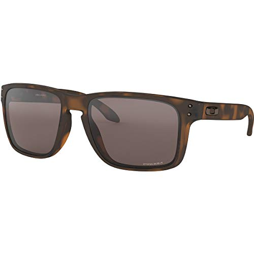 Oakley Men's OO9417 Holbrook XL Square Sunglasses, Matte Brown Tortoise/Prizm Black, 59 mm (Oakley Holbrook Metall)