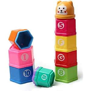 Negi Stacking Cup Toy for...