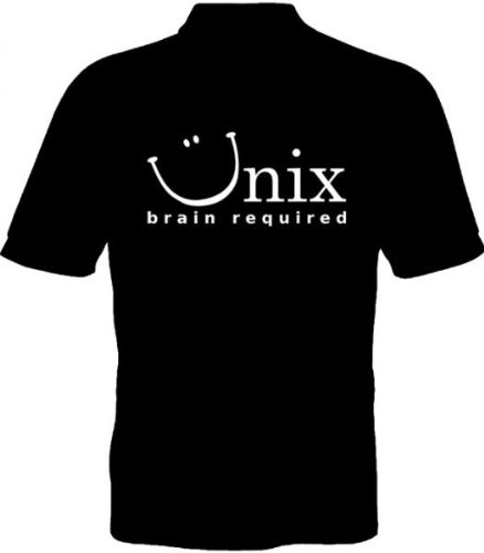Fruit of the Loom Polo-Shirt - Unix brain required