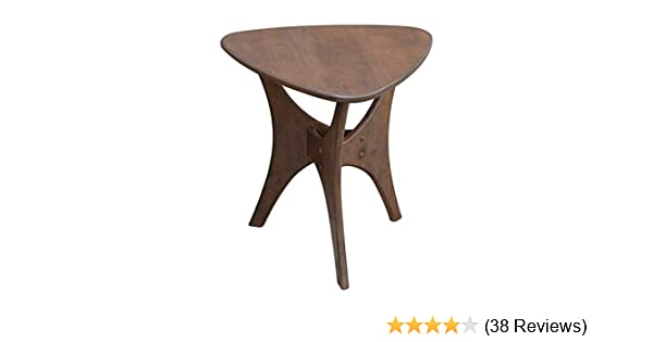 077b614e7614 Amazon.com  Ink+Ivy Blaze Accent Tables - Wood Side Table - Pecan ...