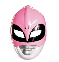 (Disguise Pink Ranger Mask Vacuform Costume)
