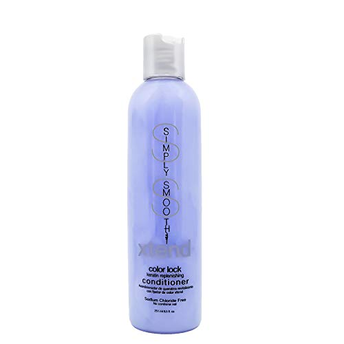 Simply Smooth Xtend Color Lock Keratin Replenish Conditioner, 8.5 oz.