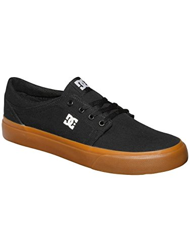 Black TX Trase Shoe Skate DC Unisex Men's Gum YOTcZx7