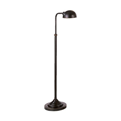 Robert Abbey Z1505 Lamps with Metal Shades, Deep Patina Bronze Finish (Abbey Swing Arm Bronze)