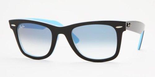 2dbedafbda Ray-Ban Gafas de Sol RB2140 Original Wayfarer / 10013F: negro sobre  turquesa - 47mm: Amazon.es: Ropa y accesorios