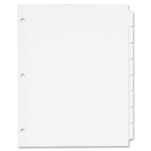Avery Plain Write Dividers 11507
