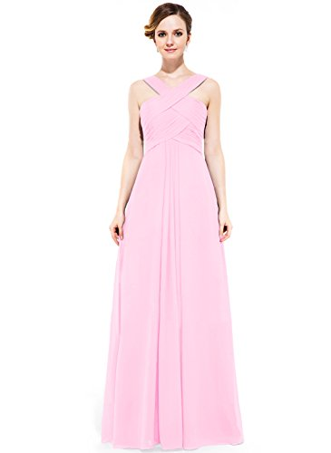 candy pink prom dresses - 9