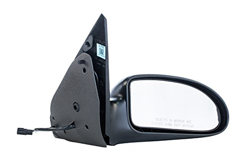 Dependable Direct Right Passenger Side Textured Power-Operated Non-Heated Non-Folding Door Mirror for USA Built Ford Focus (2000 2001 2002 2003 2004 2005 2006 2007) - FO1321180