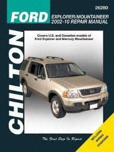 1998 Ford Explorer Mountaineer Shop Service Repair Manual CD