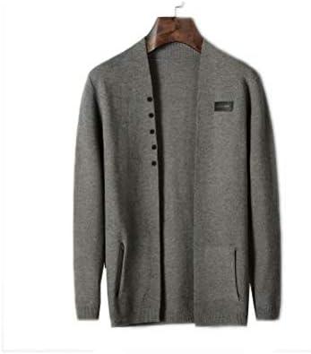 カーディガン メンズ 純色 セーター 前開き おしゃれ 無地 メンズ コート 長袖 秋 冬 春 ウール コート メンズセーター