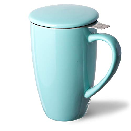 Sweejar Porcelain Infuser Teaware Steeper
