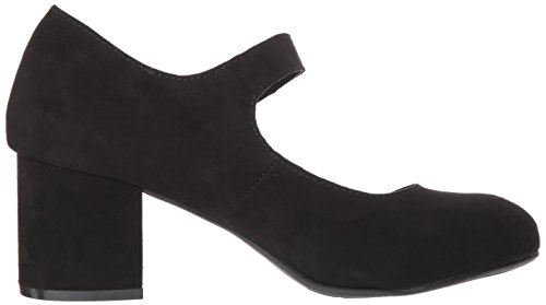 Ange Like Jellypop Dress Women's Black Suede Sandal w0xq5YOfq