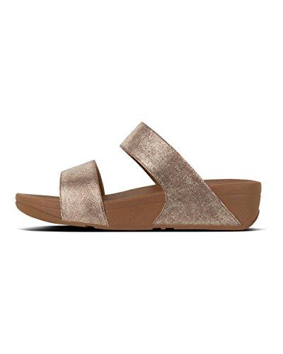 Fitflop Women's Shimmy Suede Platform Sandals Brown (Tan Foil Suede 582) cBUTKurs