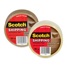 Packaging Tape, 1.88''x54.6Yds., Clear Qty:36 by Scotch