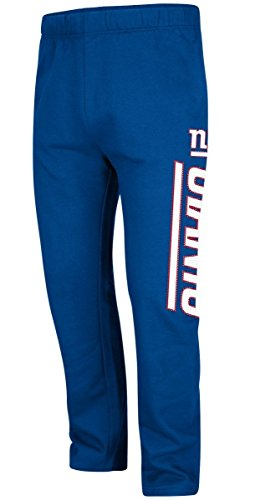 new-york-giants-royal-just-getting-started-open-bottom-sweatpants-medium