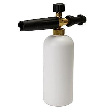 Nieve espuma Lanza Botella para Karcher K Series presión arandelas: Amazon.es: Electrónica