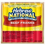 Hebrew National Beef Franks, 12 Oz (16 Pack) 112 Total Hotdogs