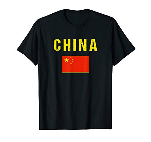 China T-shirt Chinese Flag Shirts - For Men/Women/Youth/Kids