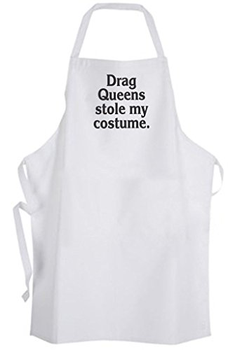[Drag Queens stole my costume – Adult Size Apron] (Funny Drag Queen Costumes)