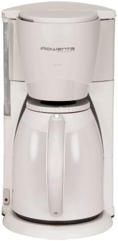 Rowenta CT-212 - Cafetera de goteo (8 tazas, 1 l), color blanco y ...