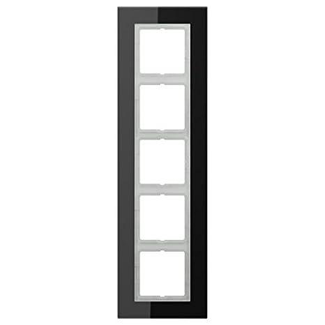 Jung LSP985GLSW - Marco embellecedor quintuple ls plus negro: Amazon.es: Bricolaje y herramientas