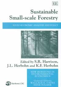 Download Sustainable Small-scale Forestry: Socio-economic Analysis and Policy (New Horizons in Environmental Economics series) ebook