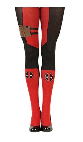 Marvel Deadpool Womens Tights Standard -
