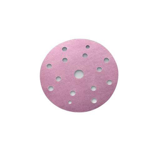 Sia Abrasives 7546.2948.0320/1950/15,2/cm X 15H 320/siaspeed siafast Haken N Loop Papier Disc 15,2/cm Durchmesser Pink Unterst/ützung Aluminiumoxid K/örnung 320 100/St/ück