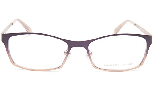 NEW PRODESIGN DENMARK 1258 c.3941 AUBERGINE EYEGLASSES FRAME 49-15-135 B30 Japan
