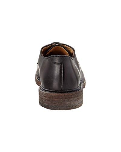 Zapatos de cuero James Oxford (Black- 84617) para hombre, 9 D (M) US