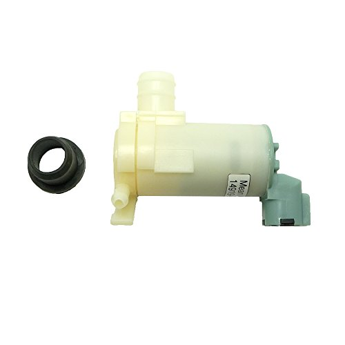 W/ S Washer Reservoir (Mean Mug Auto 14919-232316A Windshield Washer Pump w/ Grommet - For: Nissan, Infiniti - Replaces OEM #: 289203Z000, 2224620-A, 2224643-A, JIDECO 6731)