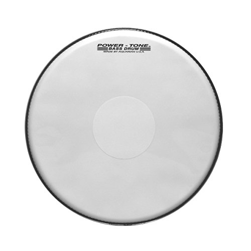 Powertone Marching Bass Drum Heads 18 inch by Aquarian