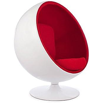 Amazon.com: Kardiel - Silla de bola moderna, Vidrio: Kitchen ...