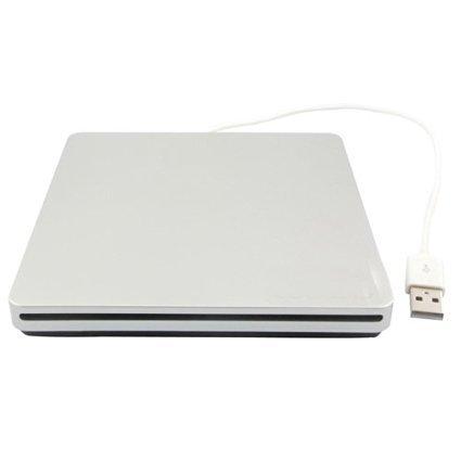 BIGFOX Portable Windows 10 Compatible External USB Slim DVD RW Optical Drive USB DVD Reader with CD Burner Player