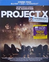 Project X Combo Pack Blu-ray + DVD + Ultraviolet (2012) Extended Cut To the Break of Dawn, Yo!