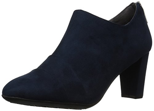 Aerosoles Women's Tavern Ankle Boot Dark Blue Fabric