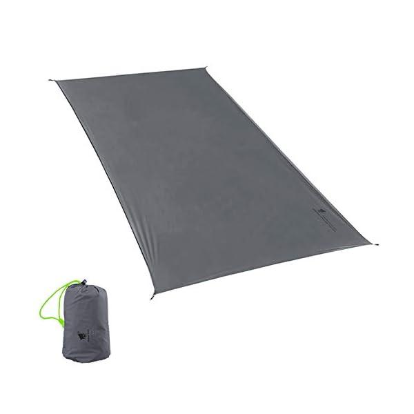 312MOoH5vbL GEERTOP Schutzplane Zeltplanen Zeltunterlage 1-4 Personen 20D leichte wasserdicht für Zelt Wanderungen Camping Picknick