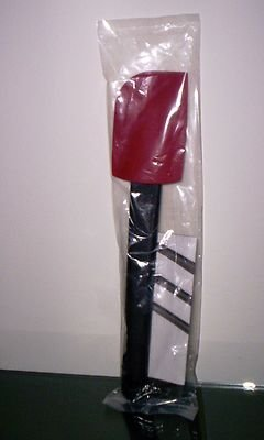 Tupperware Saucy Silicone Spatula Use up to 400 Degrees, Red and Black
